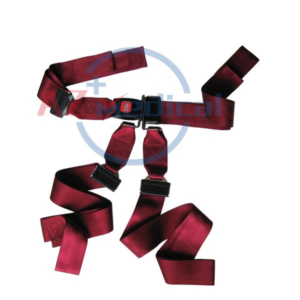 Restraint Strap Shoulder Harness System with Metal Buckle |