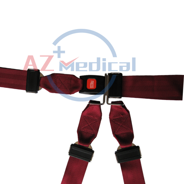 Restraint Strap Shoulder Harness System with Metal Buckle |